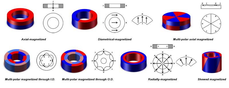 Radially Oriented Ring Magnet