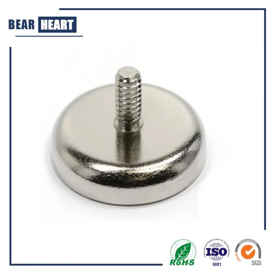 External Screw Thread Pot Magnet