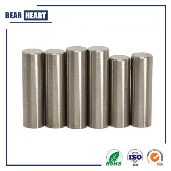 Alnico III Round Bar Magnet with Beveled Top