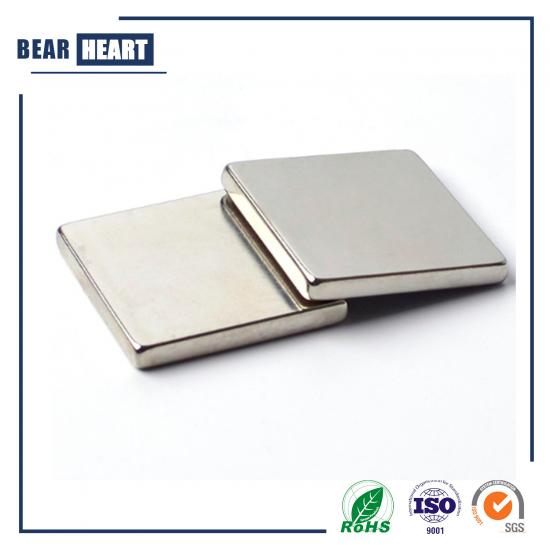 Nickel plating square Block n52 neodymium magnet