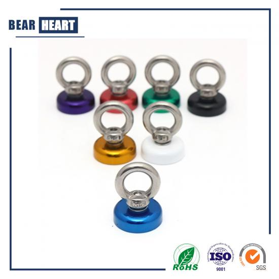 neodymium magnetic coloured fishing magnets