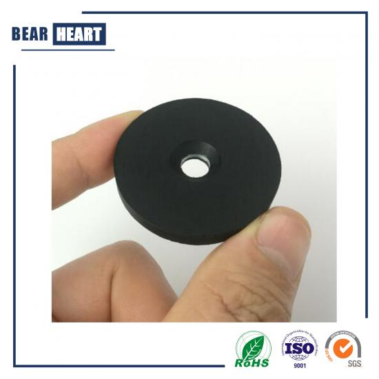 Rubber Coated NdFeB Magnet with Countersunk
